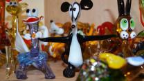 Вироби зі скла - Іграшки